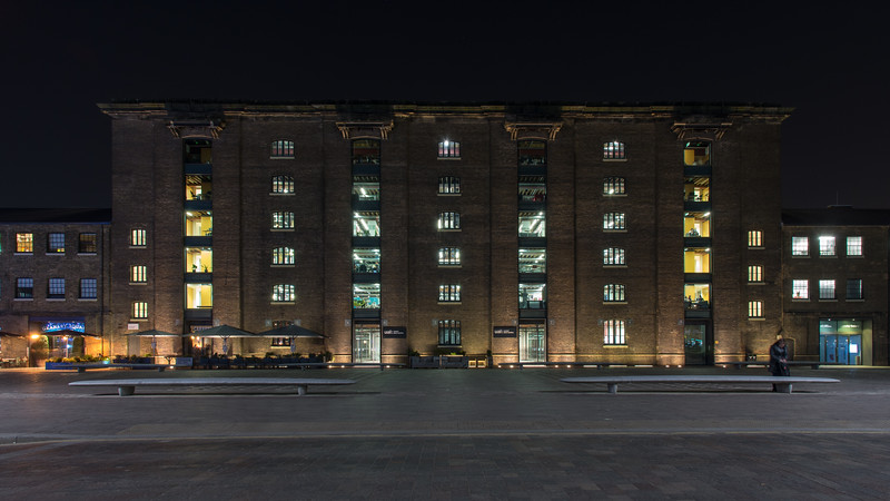 Granary Square and the University of the Arts