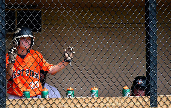8/7/2019 Mike Orazzi | Staff Pennsylvania's Jon Erdossy (20) during Wednesday's Eastern Regional Little League Baseball game with New Jersey at Breen Field in Bristol.