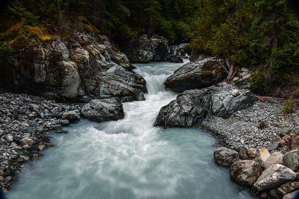9-25-17 Bella Coola - Waterfall Fun