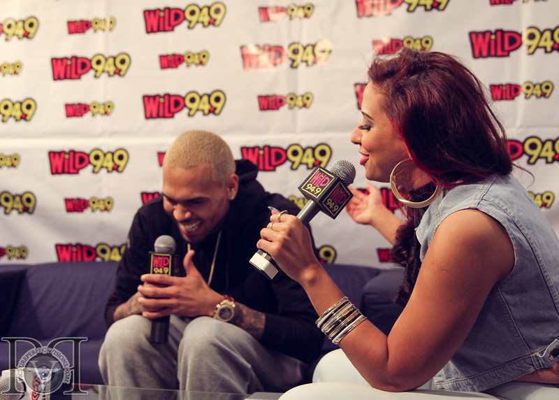 Wild Jam 2013 Nessa, Chris Brown, John Hart, Trey Songs Wild 949 455.jpg