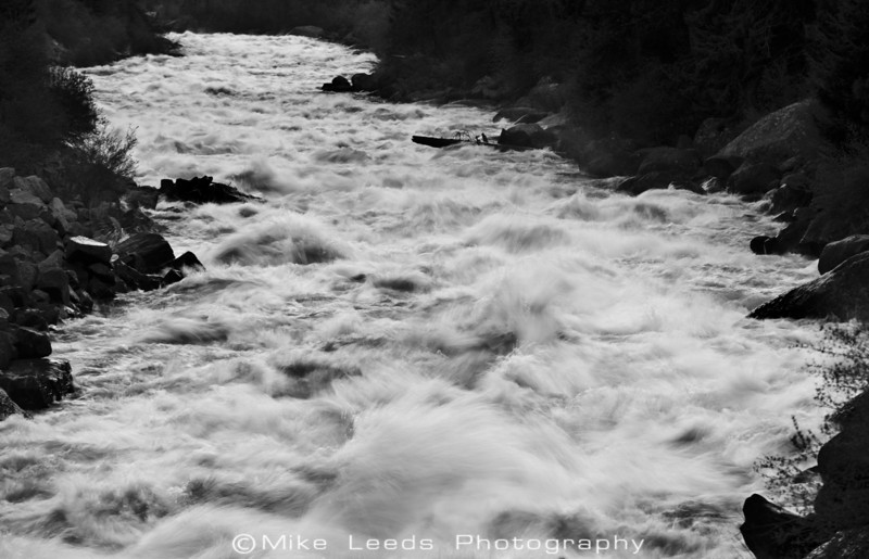 Jacob's Ladder on a May evening, around 5,000cfs.