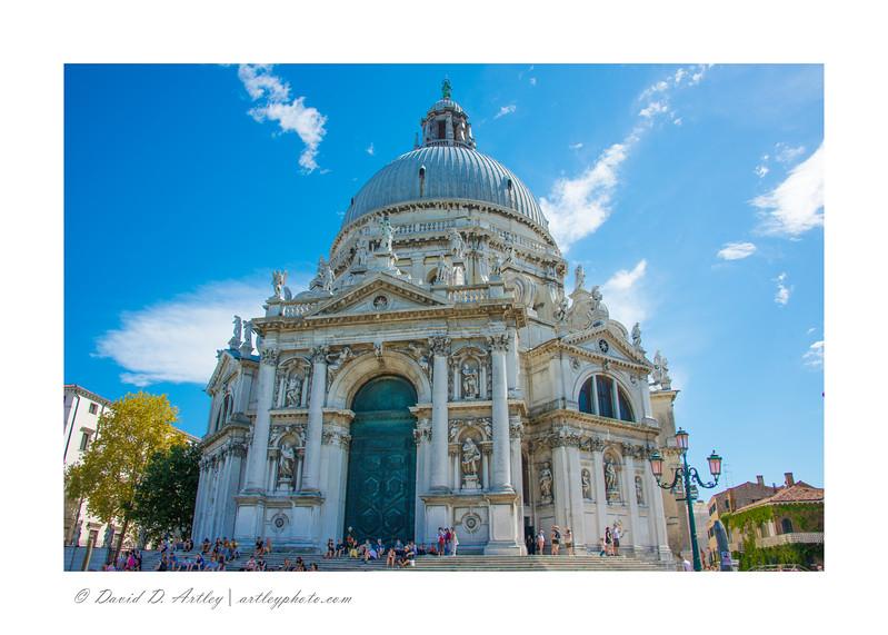 Santa Maria della Salute, Venice, Italyl
