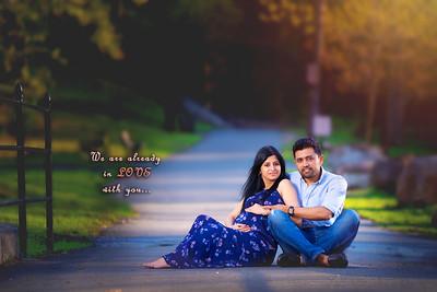 Preeti's Maternity Shoot (Atul)