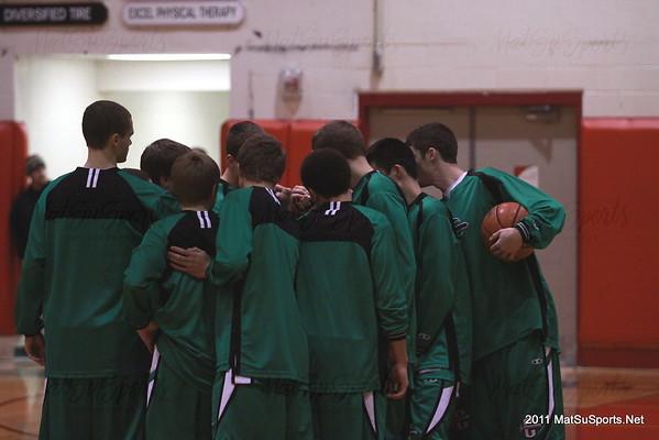 Wasilla Vs. Colony Boys 1-8-2011