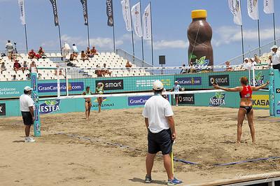 Voley Playa - Tour Europeo - Gran Canaria 08 - Eliminatorias  -  17-04-08