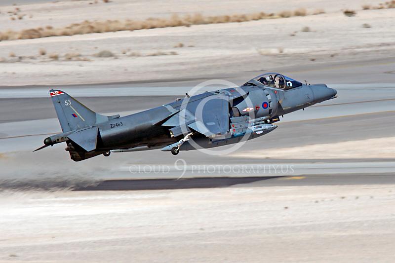 BAE Harrier 00042 BAE Harrier British RAF ZD463 by Peter J Mancus.JPG