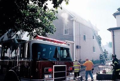 Revere, MA - 2nd Alarm, 36 Gennesse Street, 6-30-04