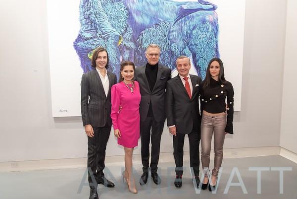 Nov 5, 2019 Opening night at the Laverdin Gallery for Helmut Koller benefiting Global Strays
