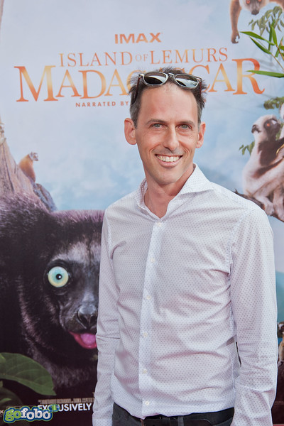 LOS ANGELES, CA - MARCH 29: Writer/Producer Drew Fellman arrives at the premiere of 'Island Of Lemurs: Madagascar' at California Science Center on Saturday, March 29, 2014 in Los Angeles, California. (Photo by Tom Sorensen/Moovieboy Pictures)