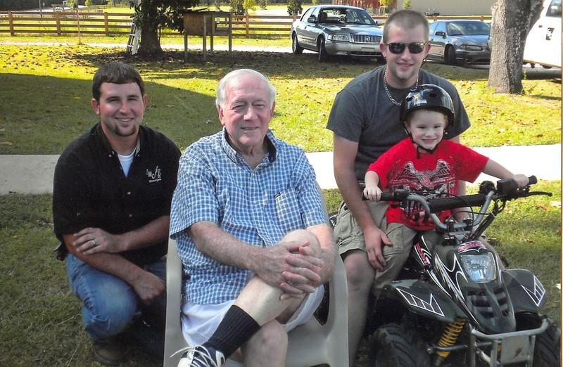 Trey, Matt, Terry & Bo