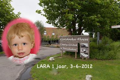 Lara 1 jaar