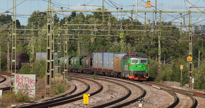 Green Cargo Rd2 1099 in Älvsjö.