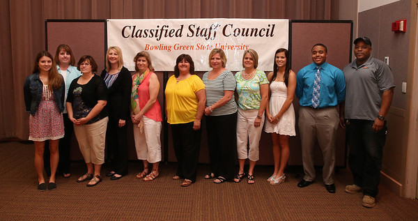 Classified Staff Council Awards May 22 2013
