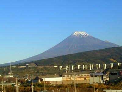 Mt. Fuji from a Shinkansen