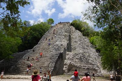 Coba Maya Ruins and Nohoch Mul Pyramid (2019-07-25)