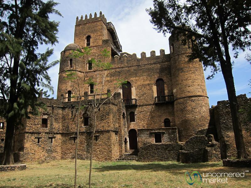 Fasiladas' Palace in Gondar, Ethiopia