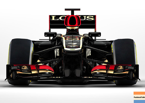 Enstone, Oxfordshire, UK28th January 2013 CGI Render of the new Lotus E21 RenaultPhoto: Lotus F1 Team (Copyright Free FOR EDITORIAL USE ONLY) ref: Digital Image E21cam14