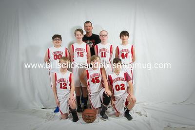 Kingston Springs 6th Grade Boys Team Pictures