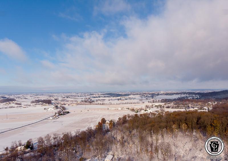 1564 - uasp - Welsh Mountain Snow Peters Road