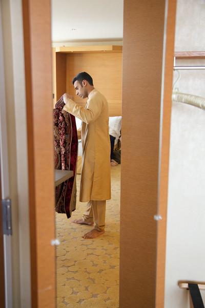 Le Cape Weddings - Indian Wedding - Day 4 - Megan and Karthik Groom Getting Ready 9.jpg