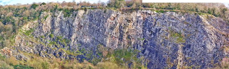 Opposite the Great Quarry