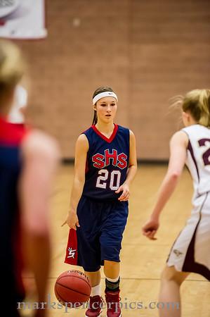 Basketball GSHS vs MapleM 1-24-2014