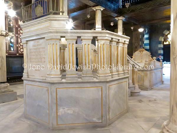 EGYPT,  Cairo. Ben Ezra Synagogue (aka El-Geniza Synagogue and Synagogue of the Levantines) (2.2016)