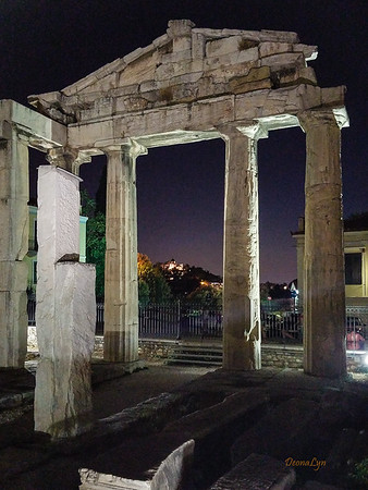 Romaiki Agora - 19-11 BC Roman Ruins