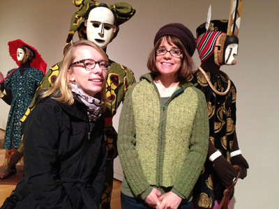 Art Show with Cathy and Kari 12/23/12
