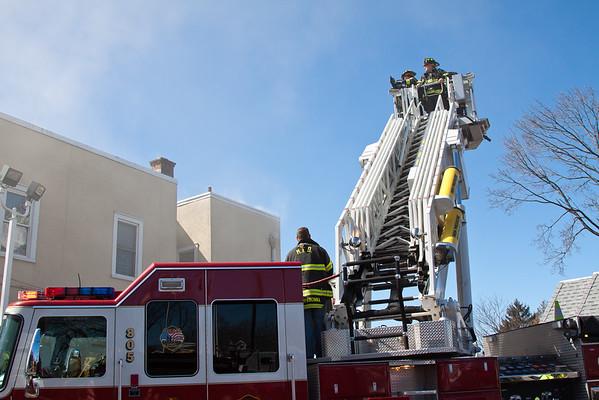Hasbrouck Hts NJ 3rd alarm, 313 Boulevard. 03-12-15