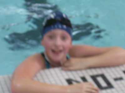 Jenna swim meet oct 09