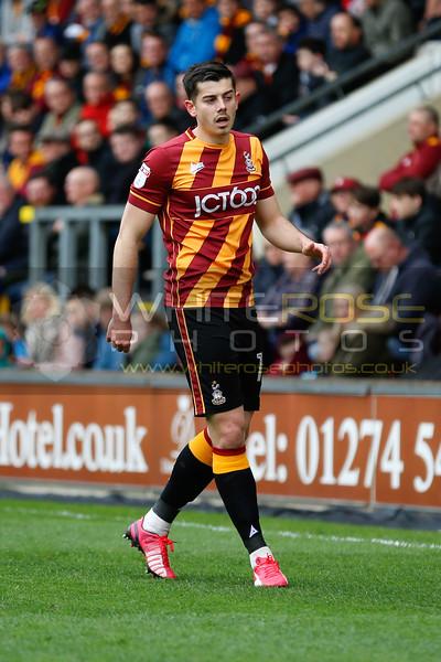 Bradford City v Walsall  01 - 04 - 17