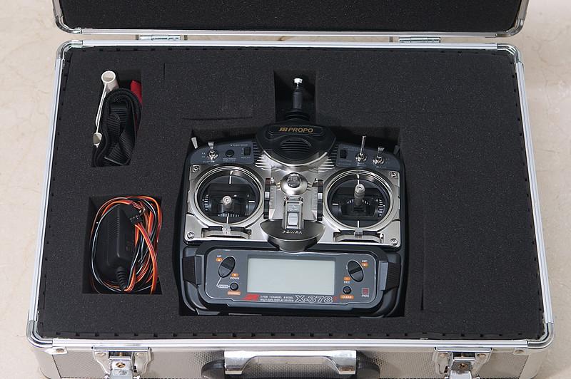 Transmitter in aluminum case