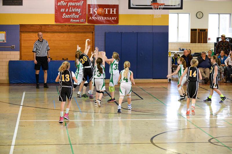Zion Lutheran Shootout - 5th Grade Girls