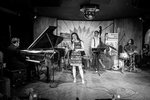 Detroit Jazz Workshop - Vocalist Performances - 7-15-2019