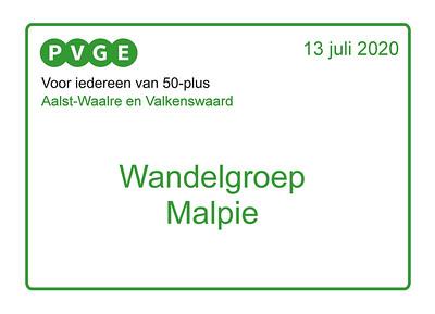 2020-0713 PVGE -AWV wandelen in de Malpie