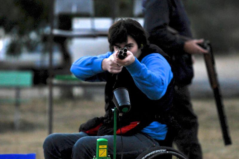 Shotgun Clay target, trap shooting
