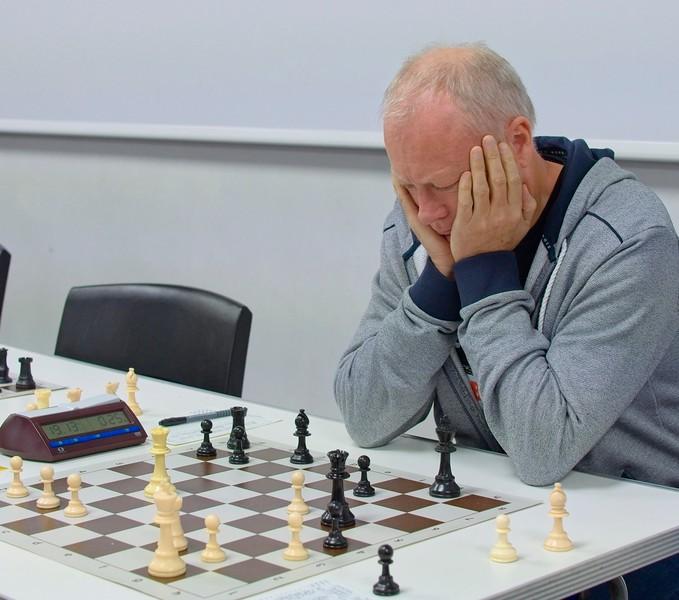 Graham Ashcroft, major section winner