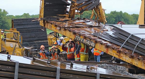 Farmersville TX. Train Derailment  CR 558  9/22/18