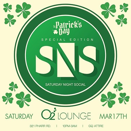 SNS O2 Lounge March 17, 2018