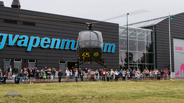 Flygvapenmuseum Helikopter