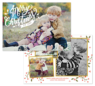 2014 Holiday Cards