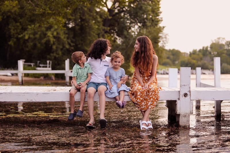 Marta Family on Lake Como