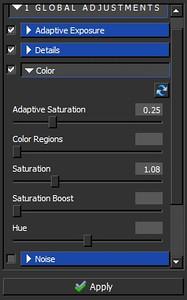 Topaz Adjust Review - The Pub - Color Panel