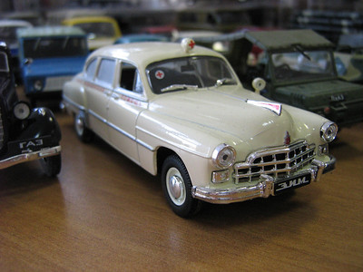2012-02-09, Alexander Stadnikov's car model collection