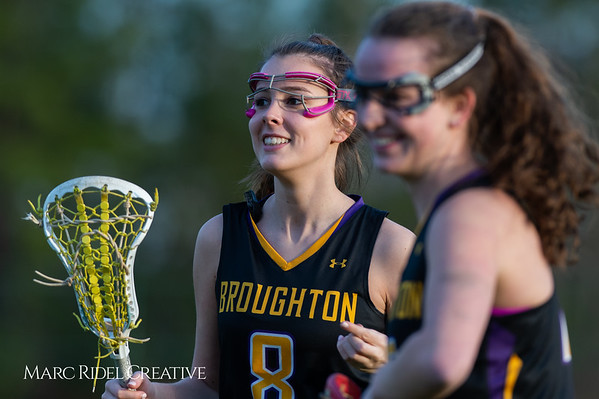 Broughton Lady Caps lacrosse at Middle Creek. February 26, 2019. D4S_1895