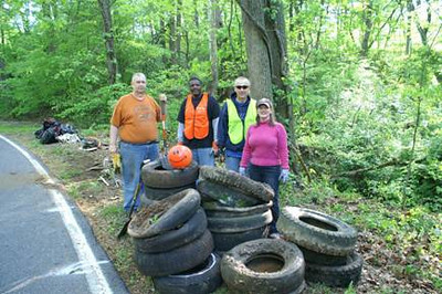 5.5.11 Lockheed Martin Employees Stream Cleanup, led by Stream Captains Jon Merryman, Deep Run/Piney Run off Race Rd. in Hanover