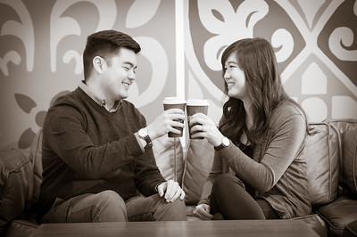 Lana & Eric Engagement - Mt Tamalpais