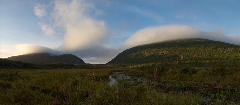 Acadian NP Sunrise - 29 September 2011
