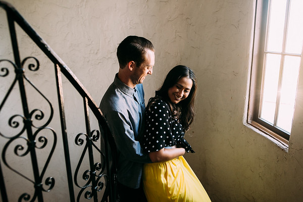 Eric and Stephanie | Long Beach Engagement